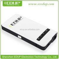 Hotselling EDUP 3g wifi router rj45 wireless router ap with 4500mAh power bank
