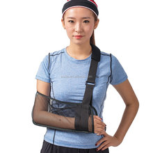 Mesh Arm Sling Medical Shoulder Immobilizer Rotator Cuff Wrist Elbow Forearm Support Brace Strap