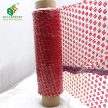 LLDPE Colorful Designs printing pallet self-adhesive packaging Plastic stretch wrap film