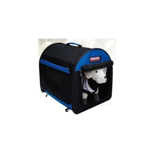 Side Loaded Travel Insect Shield Collapsible Zipper Locks Dog Carrier Bag