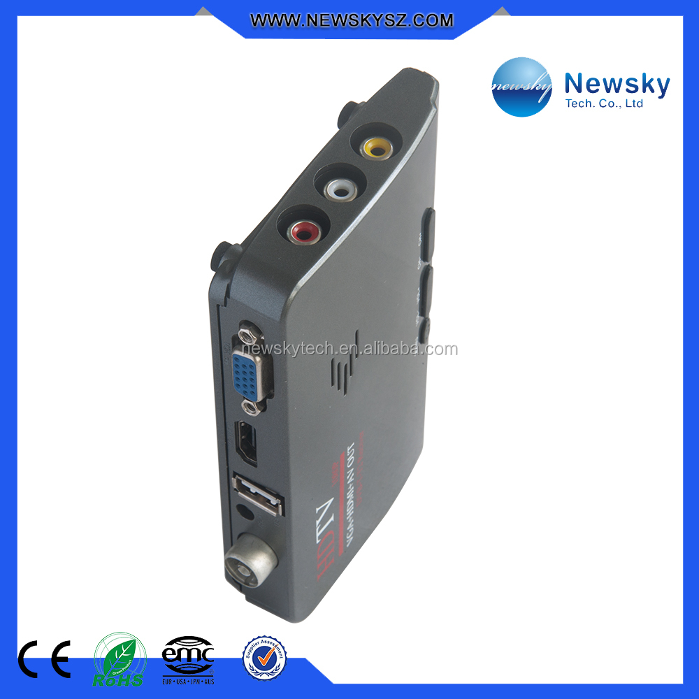 Support VIDEO Output DVB T2 Receiver