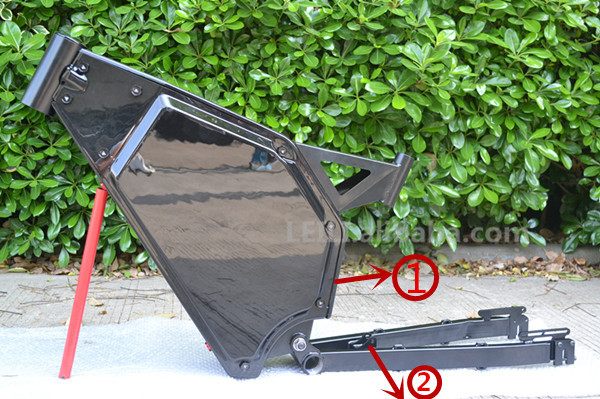 2015 newest big load steel bicycle frame sale