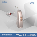 RIC receiver in canal hearing aid in ear listening devices
