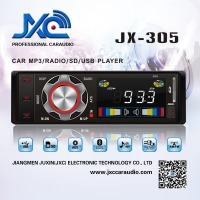 car audio/radio stereo mp3 player fm transmitter usb/sd card one din high quality