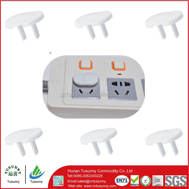 Baby safety electrical outlet baby safety plug protectors plastic child safety socket protector