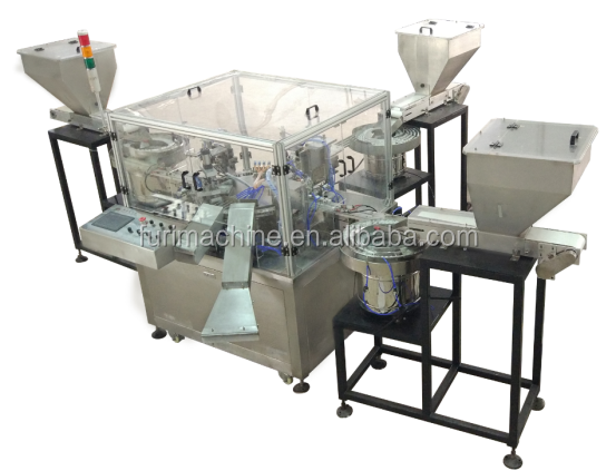 Silicon Pressure Valve cap assembly Machine