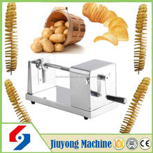 2016 superior quality stainless steel spiral potato cutter