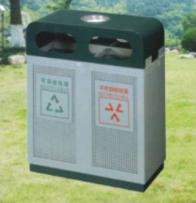Recycle public rubbish bin for sale (KYM-7214)