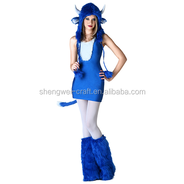 Factory hot sale ox sexy costume