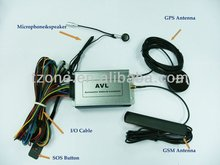 micro gps tracking AVL-05 by SMS/GPRS , fuel and temperature detection