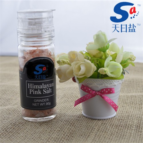 HIMALAYAN PINK SALT WITH GRINDER/MILL FOR FOOD COOKING