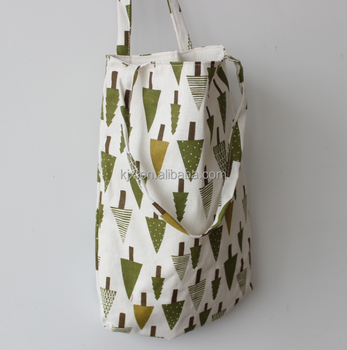 Natural Canvas Bag and Canvas Tote Bag with Printing
