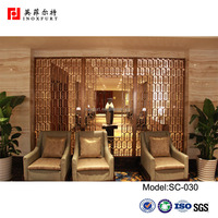 Perforated Metal Screening Partition Wall Decorative Panel