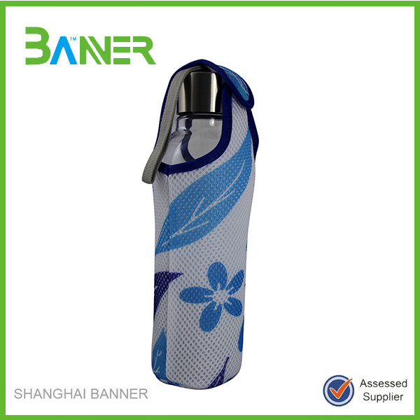 Easy carrying thermal keeping drinks sublimated bag