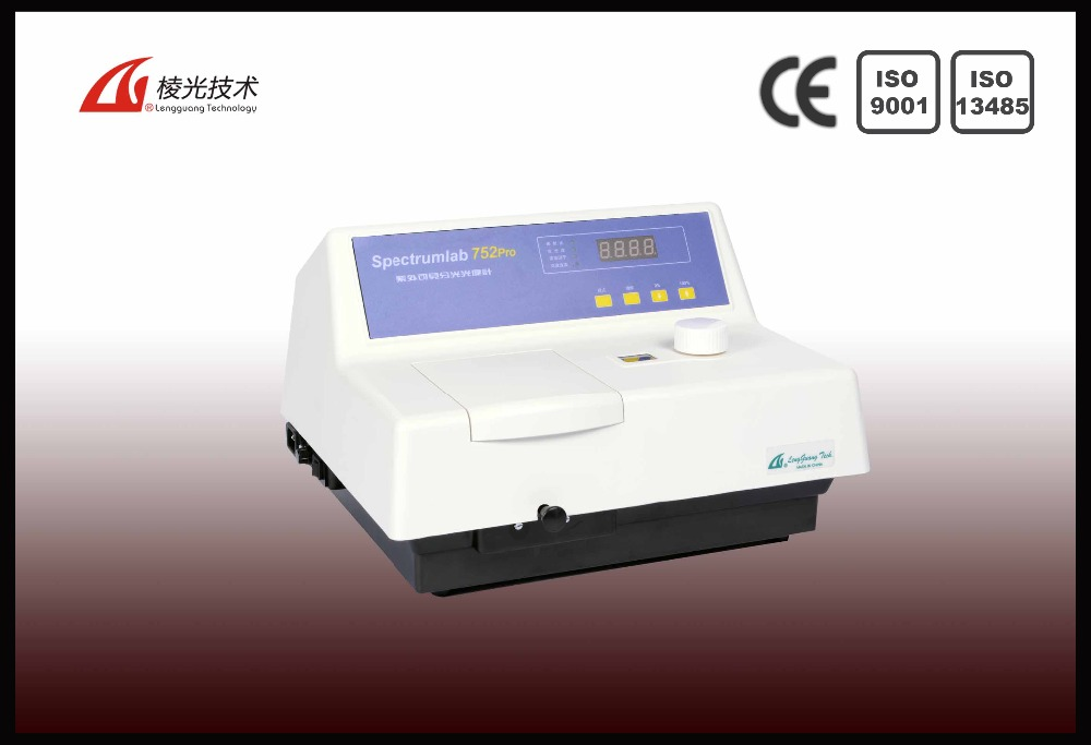 752Pro uv-visible spectrophotometer instrument