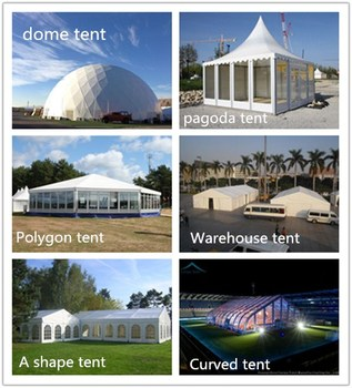 Custom Made Temporary Large Clear Tents For Weddings