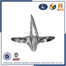 High quality polishing stainless steel 316 bruce anchor for boat
