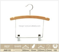 Customized bikini design Fashion beautiful song wooden hangers children