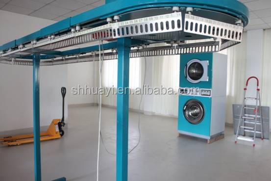 Factory Outlet Fully Automatic Commercial Laundry Garment Conveyor