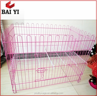 China Durable Wholesale Collapsible Dog Waterproof Chain Link Fenceing Cage Singapore Sale
