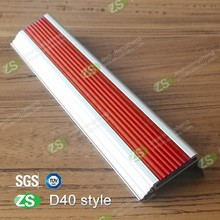 Aluminum Anti-slip Strip Stair Nosing For Marble Stair Step
