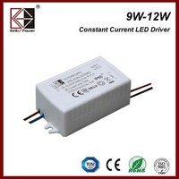 3years warranty constant current IP65 Waterproof led driver 600mA 12w