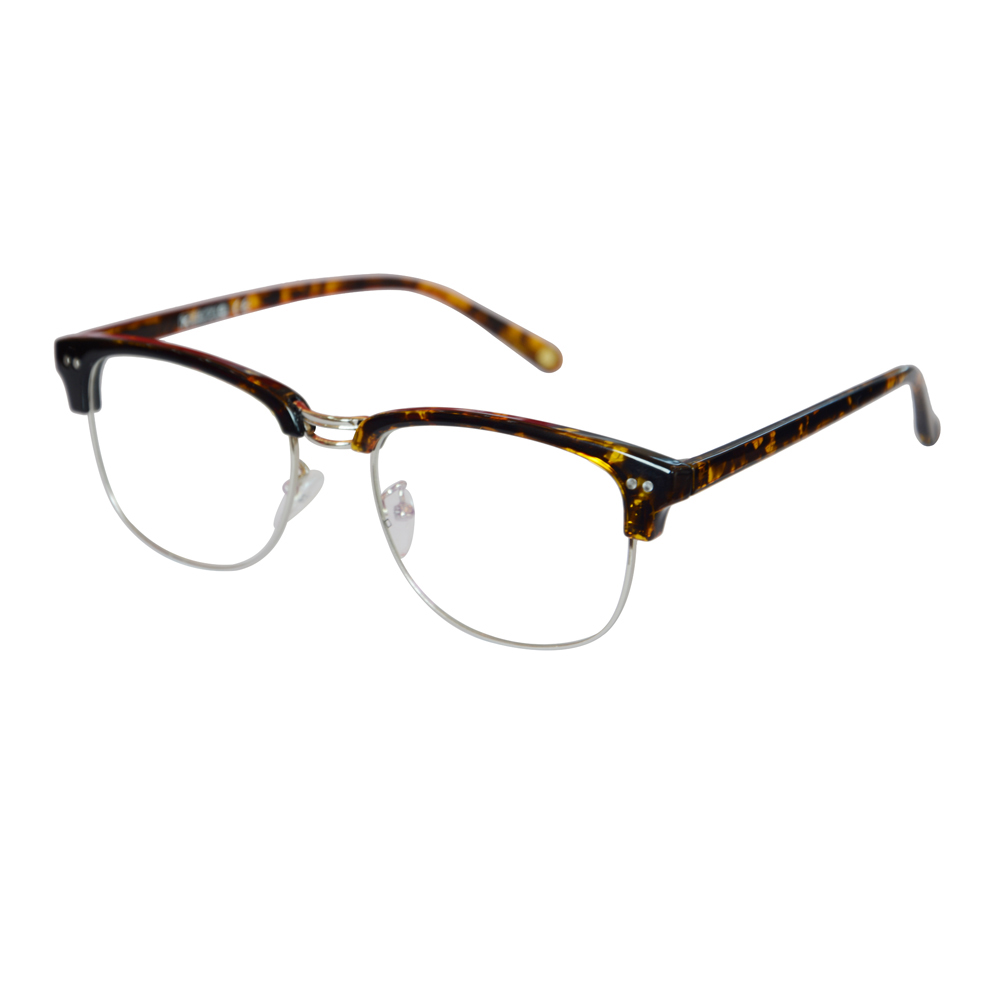 Half Rim Eyeglasses Progressive multi-focal lens Reading Glasses See Near Far +100 +150 +200 +250 +300 +350 SD014