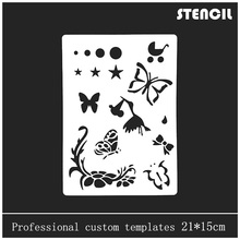 multifunction educational kids drawing Stencils/Childrens Stencils PP material AccessoriesArt Stencils