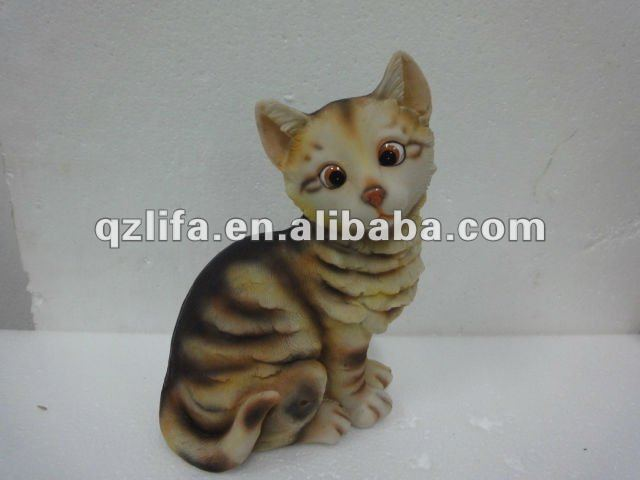 New products singing cat felt crafts in resin crafts