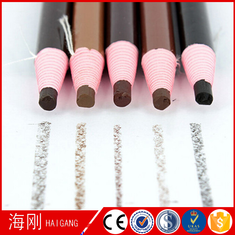 Good quality cosmetic waterproof eyebrow pencil with paper roll