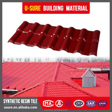 Light and durable materials House plans factory synthetic resin roof tile