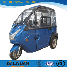 Daliyuan mini passenger adult tricycle closed tricycle moped