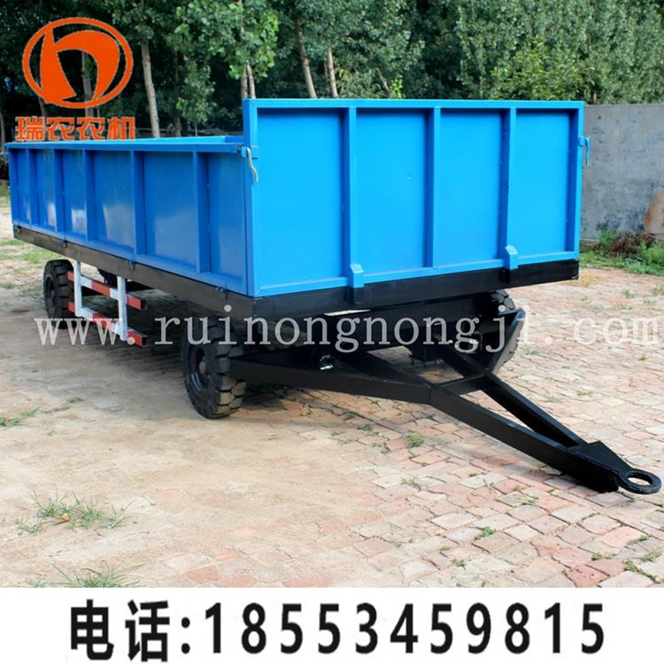 Hot selling agricultural tractors tipping trailer tractor hydraulic dump trailer