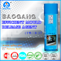 Plastic injection mold machine agent/Parting agent/Mould release agent Silicone spray B-17