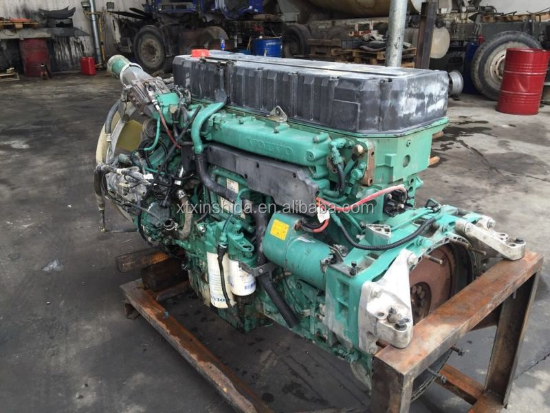 Used VOLVO Truck D12D Engine 380HP/420hp