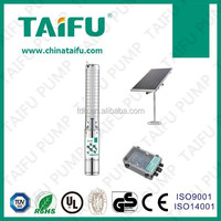 1.5HP 1KW 110VDC solar water pump agriculture irrigation system