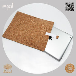 China wholesale price customized cork smart cover for ipad 4 accessories