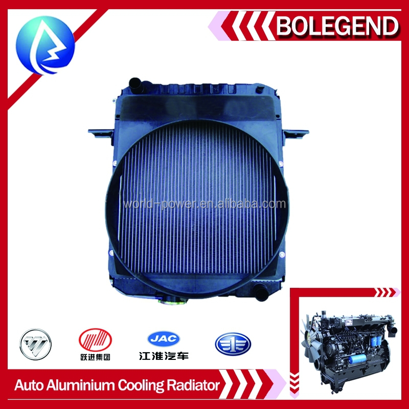 auto aluminium cooling radiator, spare parts China brand,Diesel engine parts,