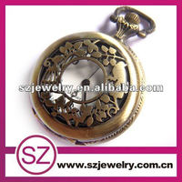 SWH0134 Custom Cheap Steampunk Wholesale Quartz Antique Pocket Watches