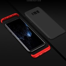 2017 new item shockproof pc case full cover for samsung galaxy S8 good quality 360 degree case for samsung S8