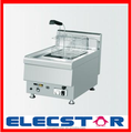 Gas/Electric Fryer, single and double tank available, Countertop Fryer 002