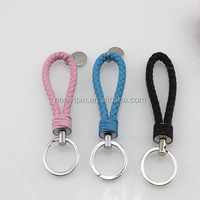 2018 new hand-woven rope car key ring men and women creative bracelet key chain custom small gifts
