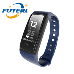 0.96 inch OLED Smart Fitness Tracker with heart rate and blood pressure