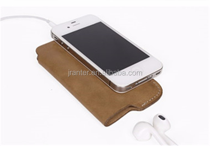 Genuine Leather Phone Pouch Phone Case