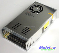 CE, IEC approved 400W high power switching power supply, regulated power supply, led driver, 12V, 24V,36V,48V can be selected