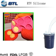 Food grade RTV-2 Silicone Rubber with platinum curing
