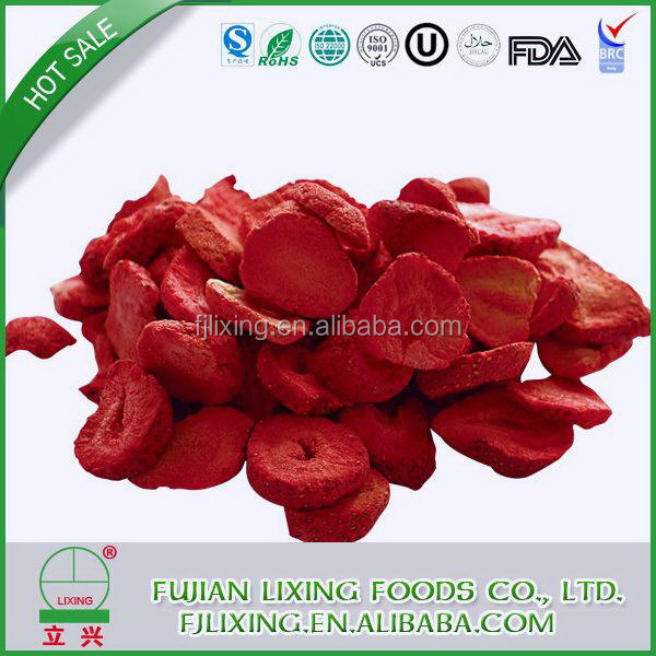Contemporary top sell freeze dried strawberry chips