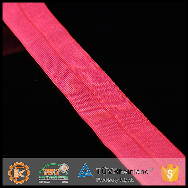 Wholesale elegant Shangang KEJI red comfortable fold over elastic for underwaist