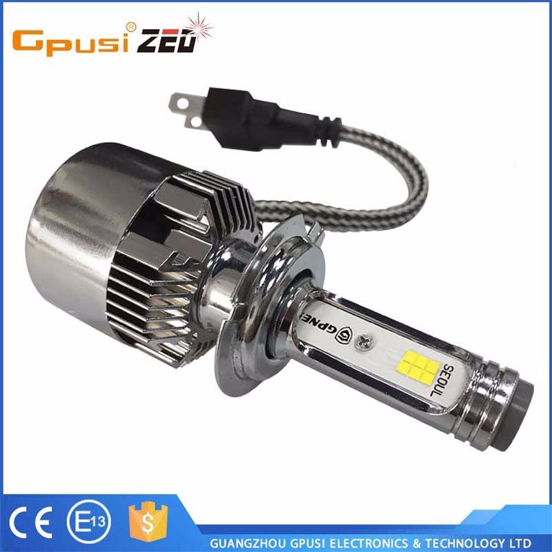 Gpusi Competitive Price Auto Accessory Led Headlight for Toyota Fortuner H1 Car LED Headlights H7 36W 6000K