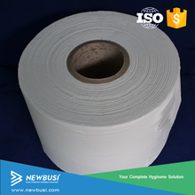 Nonwoven tissue paper jumbo roll for baby diapers